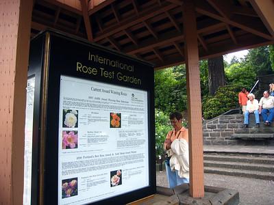 Portland, Oregon International Rose Test Garden