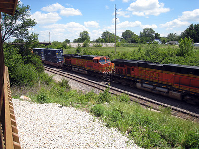 BNSF Main Line Freight Trains