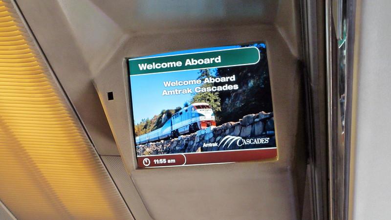 Portland, Oregon and Amtrak Cascades to Seattle, WA