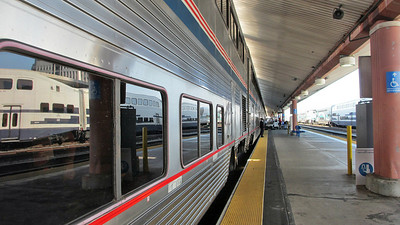 Amtrak's Coast Starlight - Traveled from Los Angeles to Portland, OR