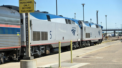 Amtrak's Empire Builder - Traveled from Seattle, WA, to Chicago, IL