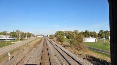 Day 1 - Departing Chicago on the California Zephyr through Illinois, Iowa, and Nebraska