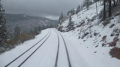 Day 3 - California Zephyr from Reno, NV, to Emeryville, CA, through the snowy Sierra Nevada Mountains Mini Movie