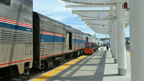 Traveled Amtrak's California Zephyr through Denver, CO, and Salt Lake City, UT, to Emeryville, CA(San Francisco)