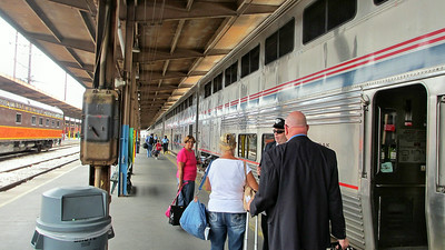 Amtrak's City of New Orleans to Chicago