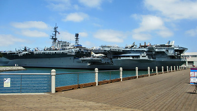 Five Days in San Diego, CA.  Visited USS Midway and San Diego Zoo.