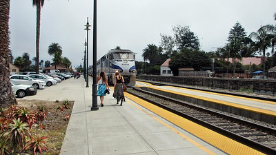 Santa Barbara, CA, and travel on Amtrak's Pacific Surfliners