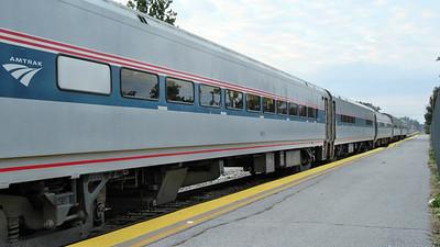 Amtrak Illinois Train Trip Carbondale to Chicago October 6