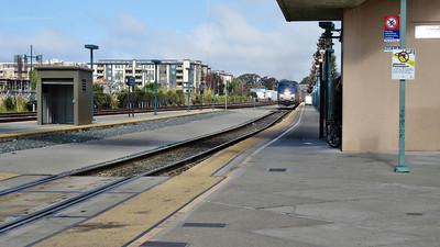 Amtrak's Coast Starlight Emeryville to Los Angetles