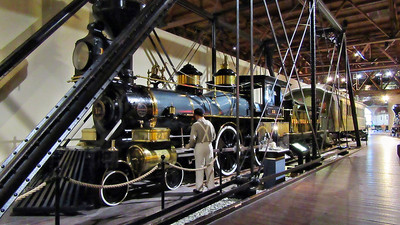 California State Railroad Museum in Sacramento, CA