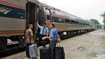 12 Amtrak Saluki Rail Trip