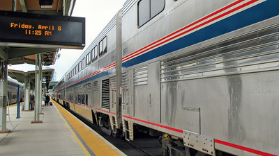 Sacrament to Chicago on Amtrak's California Zephyr