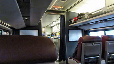 Amtrak's Maple Leaf Train from Toronto to Albany, NY