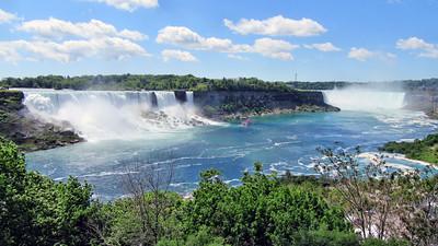 Niagara Falls, Canada and Niagara by the Lake Village