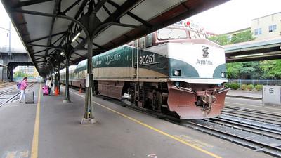 Amtrak's Cascades Train Portland to Seattle