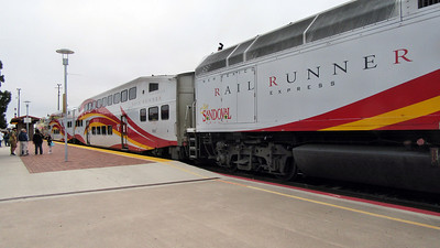 RailRunner Train to Santa Fe, NM