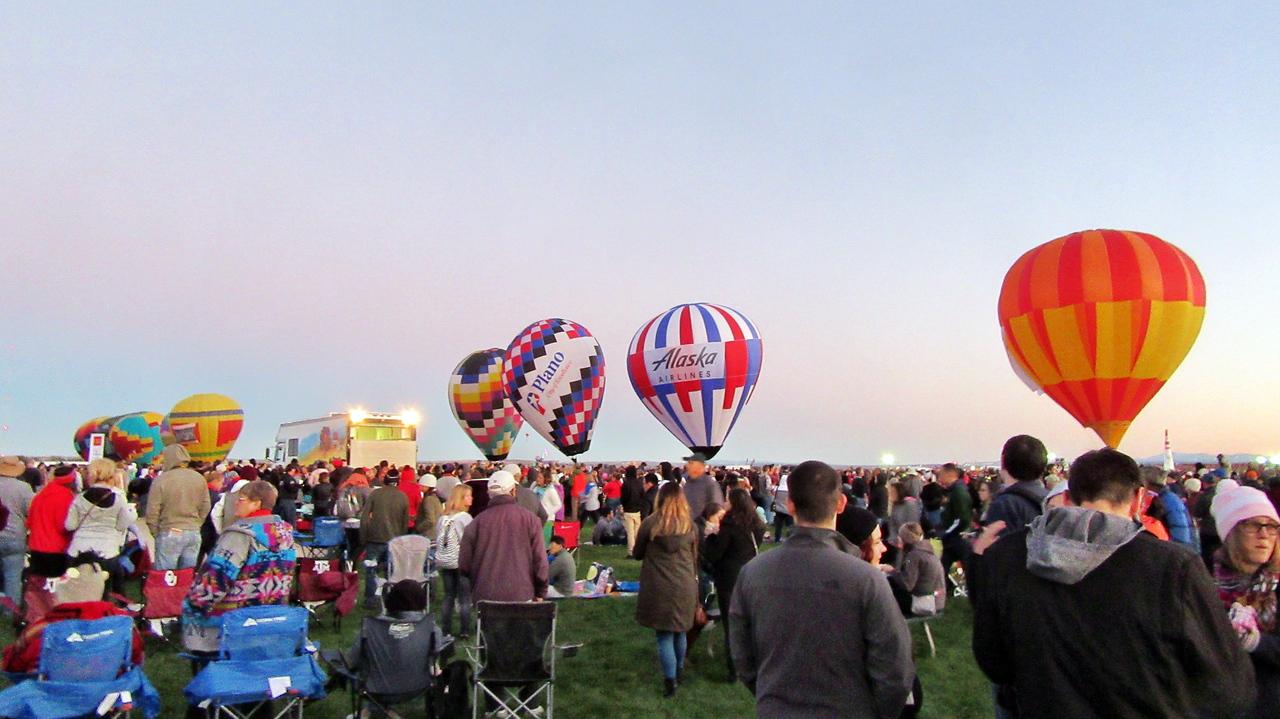 Albuquerque 2017 International Balloon Fiesta Mass Ascension