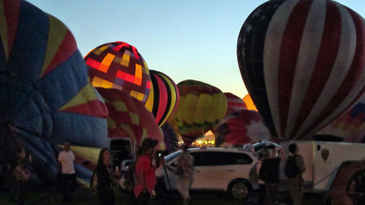 Evening Glow at the Albuquerque 2017 Balloon Fiesta