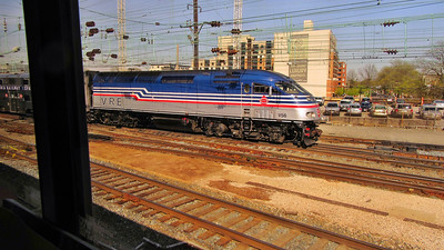 Amtrak's Capitol Limited Westbound