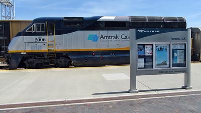 Amtrak California's San Joaquin and Emeryville