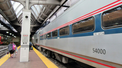 Chicago and Amtrak's Lincoln Service Train