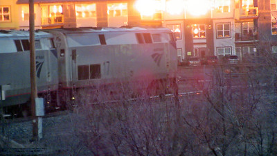 Amtrak's California Zephyr in Colorado