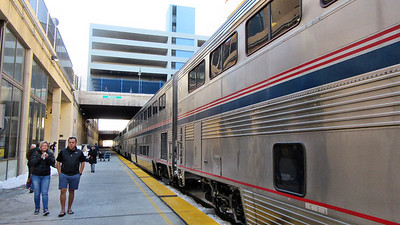 Amtrak's California Zephyr in Utah and Nevada