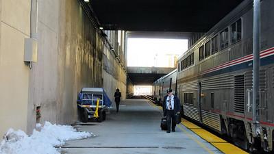Amtrak's California Zephyr in Utah and Nevada