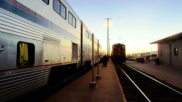 Amtrak's Southwest Chief Westbound