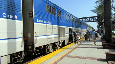 Los Angeles and Amtrak's Southwest Chief Eastbound