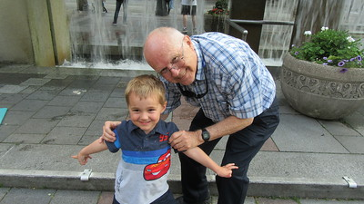 Family Time in Seattle with my great nephew Neil