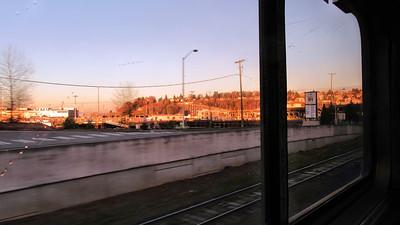 Amtrak Cascades to Vancouver, CA
