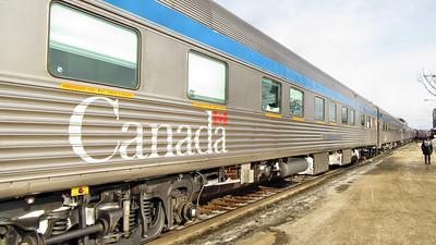 Via Rail's CANADIAN  - Ontario Province