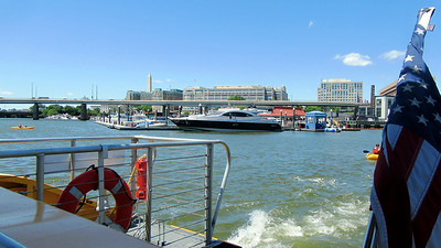 Friday in Washington DC - Potomac Boat Ride