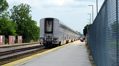 Amtrak Carbondale Trip July 19-21