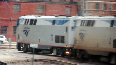 Amtrak's California Zephyr Westbound