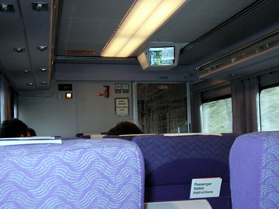 Inside Talgo Business Coach Car