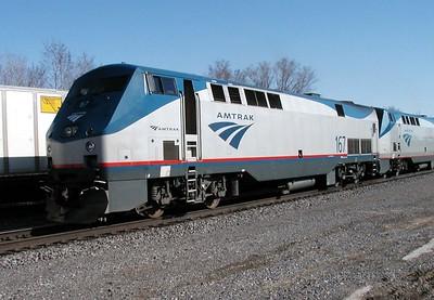 Amtrak Empire Builder Arriving Minot North Dakota