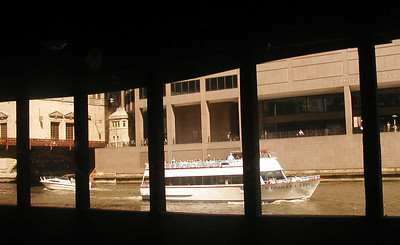 12 View From Bedroom 4 of Empire Builder of Chicago River