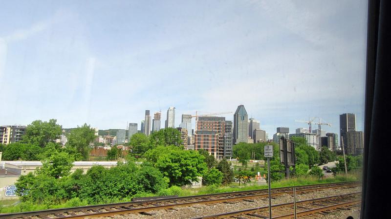 Via Rail's THE OCEAN Montreal - Halifax, NS