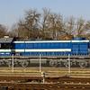 Azərbaycan Dəmir Yolları ADY (Azerbaijan Railways) TEM2 diesel locomotive (TEM2-2952), Vilnius