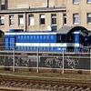 Azərbaycan Dəmir Yolları ADY (Azerbaijan Railways) TEM2 diesel locomotive (TEM2-2949), Vilnius