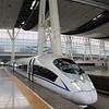 China High-speed Rail (HSR) CRH380BL-5530 operating Train No. G11 from Beijing South to Shanghai Hongqiao
