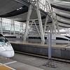China High-speed Rail (HSR) CRH380BL and CRH380CL trains at Beijing South (Beijingnan) station