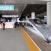 China High-speed Rail (HSR) CRH2A-2508 at Xi'an North (Xianbei) station
