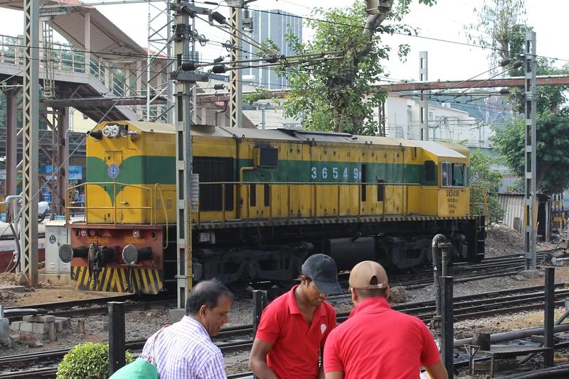 Indian Railways WDS-6AD Class Locomotive No. 36549R at Bengaluru City KSR Station [SBC]
