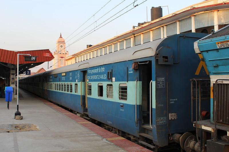 Indian Railways Mysuru Junction Station [MYS] – Platform View