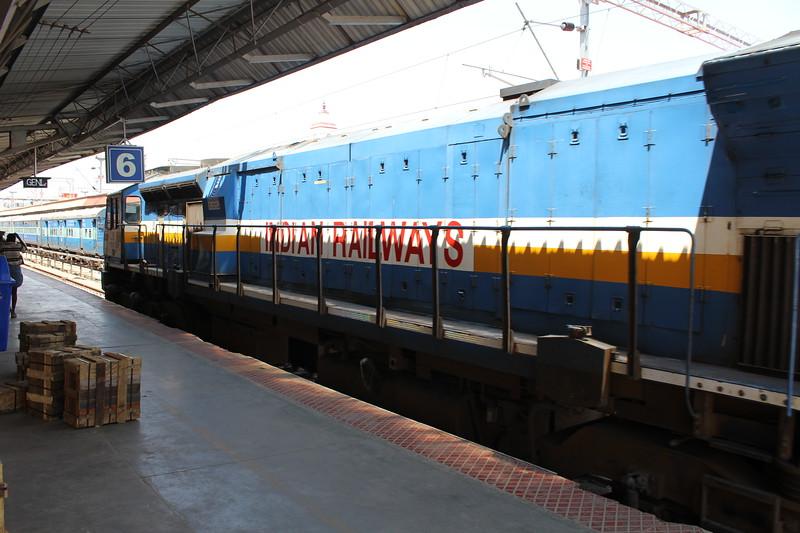 Indian Railways WDP-4D Class Locomotive No. 40329 at Mysuru Junction Station [MYS]