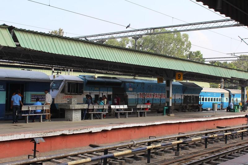 Indian Railways WDP-4D Class Locomotive No. 20056 at Bengaluru City KSR Station [SBC]