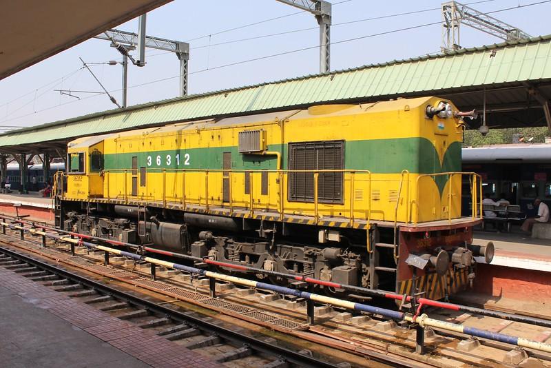 Indian Railways WDS-6AD Class Locomotive No. 36312 at Bengaluru City KSR Station [SBC]